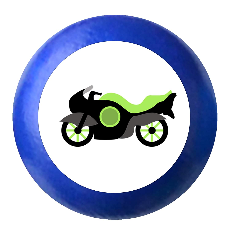 T/ürknaufMotorrad dunkelblau Holz Buche Kinder Kinderzimmer 1 St/ück Fahrzeuge Transportfahrzeuge Traum Kind
