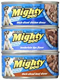 Mighty Dog Purina Prime Cuts Dog Food - 3 Flavor Variety Pack In Gravy (Chicken/Beef/Tenderloin) 2 Pack, 24 ct. (Purple Box) Includes 5 Valuable tips for dog owners