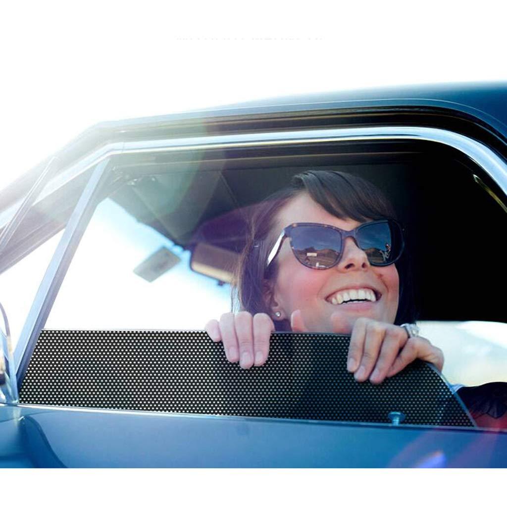 gr/ö/ße : 38 * 42CM schwarz wasserdicht geschnitten Werden kann Sonnenschutz-Multifunktions-ultrad/ünne Fensterschattierungsfolie SUN-Feng Auto-Fenster-Kunststoff-Sonnenschutz