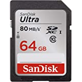 SanDisk Ultra 64GB Class 10 UHS-I SDXC Memory Card (SDSDUNC-064G-GN6IN)