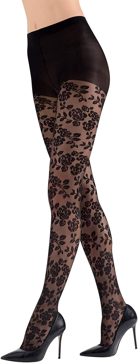 Natori womens Nouveau Rose Sheer Tights at  Women's Clothing store