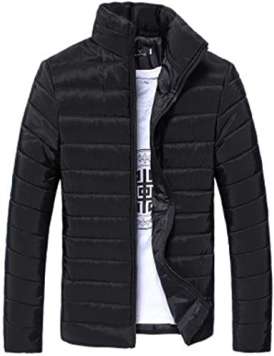 Winter Warm Jacket Hooded Coats Mens Thick Coat Slim Casual Cotton Padded Down Outerwear,Picture Color,XXL