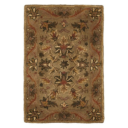 Traditional Rug - Antiquity Wool Pile -Olive/Gold Olive/Gold/Traditional/12'L x 2' 3''W/Runner - Safavieh Antiquities Olive