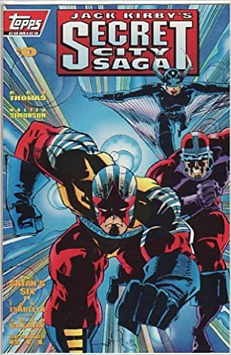 Jack Kirby/'s Secret City Saga 1993 series # 0 near mint comic book