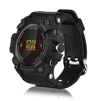 ISWIM Montre Connectée,Podomètre Bracelet Connecté Fitness Tracker dActivité Montre Cardio Sport (