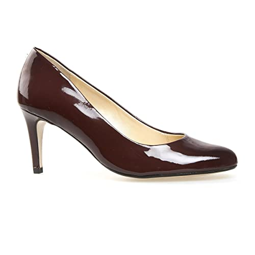 Van Dal Shoes Womens Court Trinity in Port Patent B01675TMMS