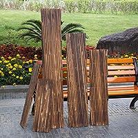 CAI Muebles para el hogar Cercas Cercas de Madera Decoraciones de Rejillas Barandas telescópicas Jardín Exterior Cerca de Mascotas Cerca,200 * 50cm: Amazon.es: Deportes y aire libre