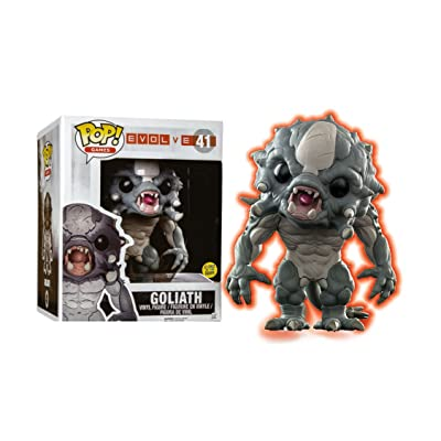 Pop Evolve Goliath Glow in The Dark Bobblehead, 6-inch: Toys & Games