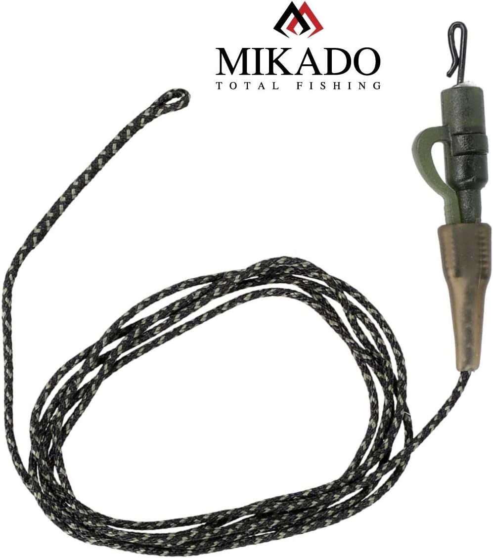 Antitangle Sleeve Mikado 2X LEADCORE Safety Clip System mit Quick Change Wirbel