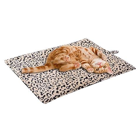 Schenereal CO - Manta para Mascotas autocalentable (Ideal para Gatos y Perros, 51 x