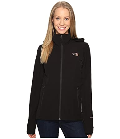 The North Face Women's Shelbe Raschel Hoodie TNF Black/Rose Dawn Small