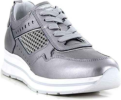 sneakers nero giardini traforati