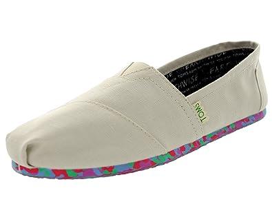 amazon com toms women s classics earthwise vegan shoe flats