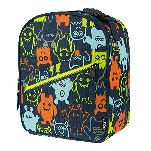 PackIt Freezable Upright Lunch Box, Monsters 2.0