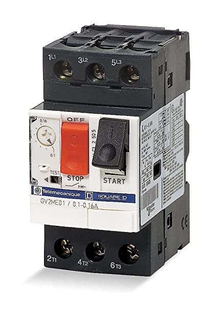 amazon com push button manual motor starter no enclosure 2 5 to 4 rh amazon com Telemecanique Parts Catalog Telemecanique Contactor
