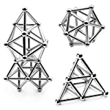 LiKee Upgraded 63 Pieces Magnetic Sculpture with