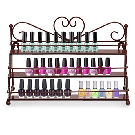 Review AISHN Nail Polish Rack