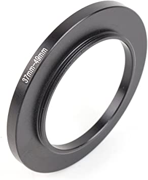 49mm Lens to 52mm Accessory Pixco 49-52mm Step-Up Metal Filter Adapter Ring