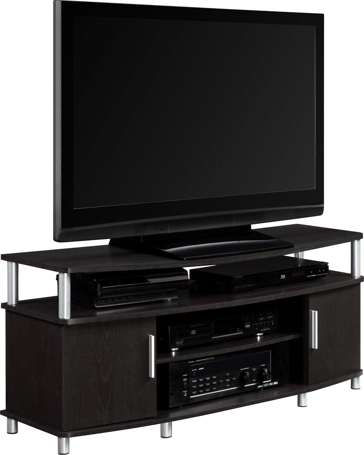 Ameriwood Home Carson Tv Stand For Tvs Up To 50 Inches Wide Cherry
