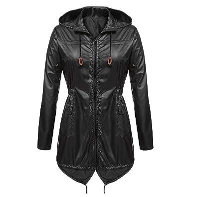 Amazon.com: Amiley Parkas - Chaqueta de invierno para mujer ...