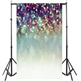 YJYdada Lover Dreamlike Glitter Haloes Photography Background Studio Props Backdrop(90cmX150cm) (A)