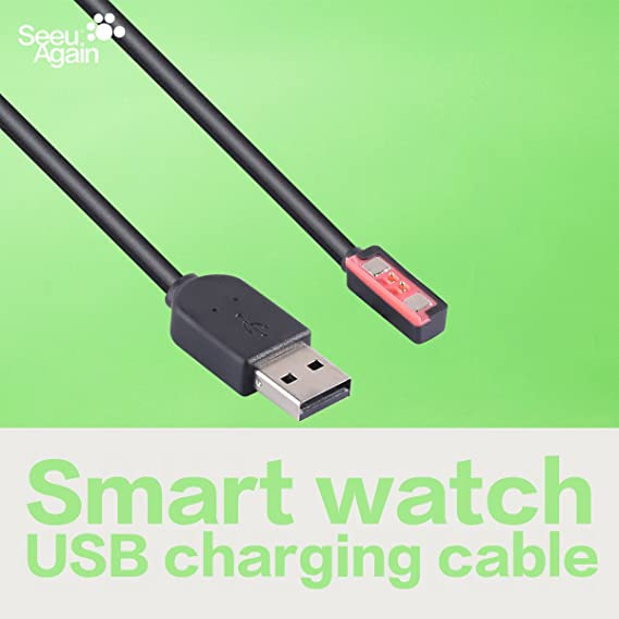 Smartwatch Accessories USB Charging Cable 150cm TUSITA Charger for Pebble Steel 2nd