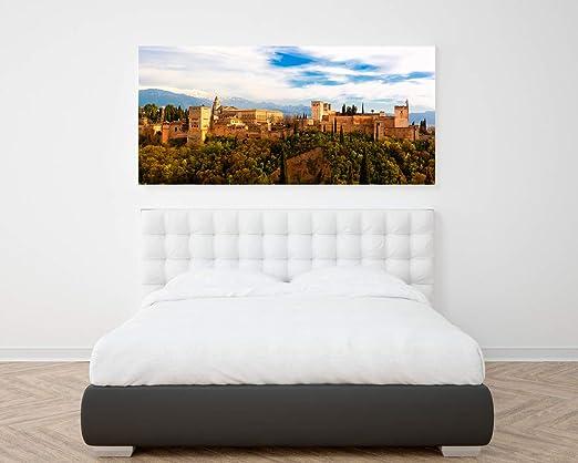 Posterlounge Cuadro de PVC 40 x 20 cm Alhambra in Granada de Michael Rucker
