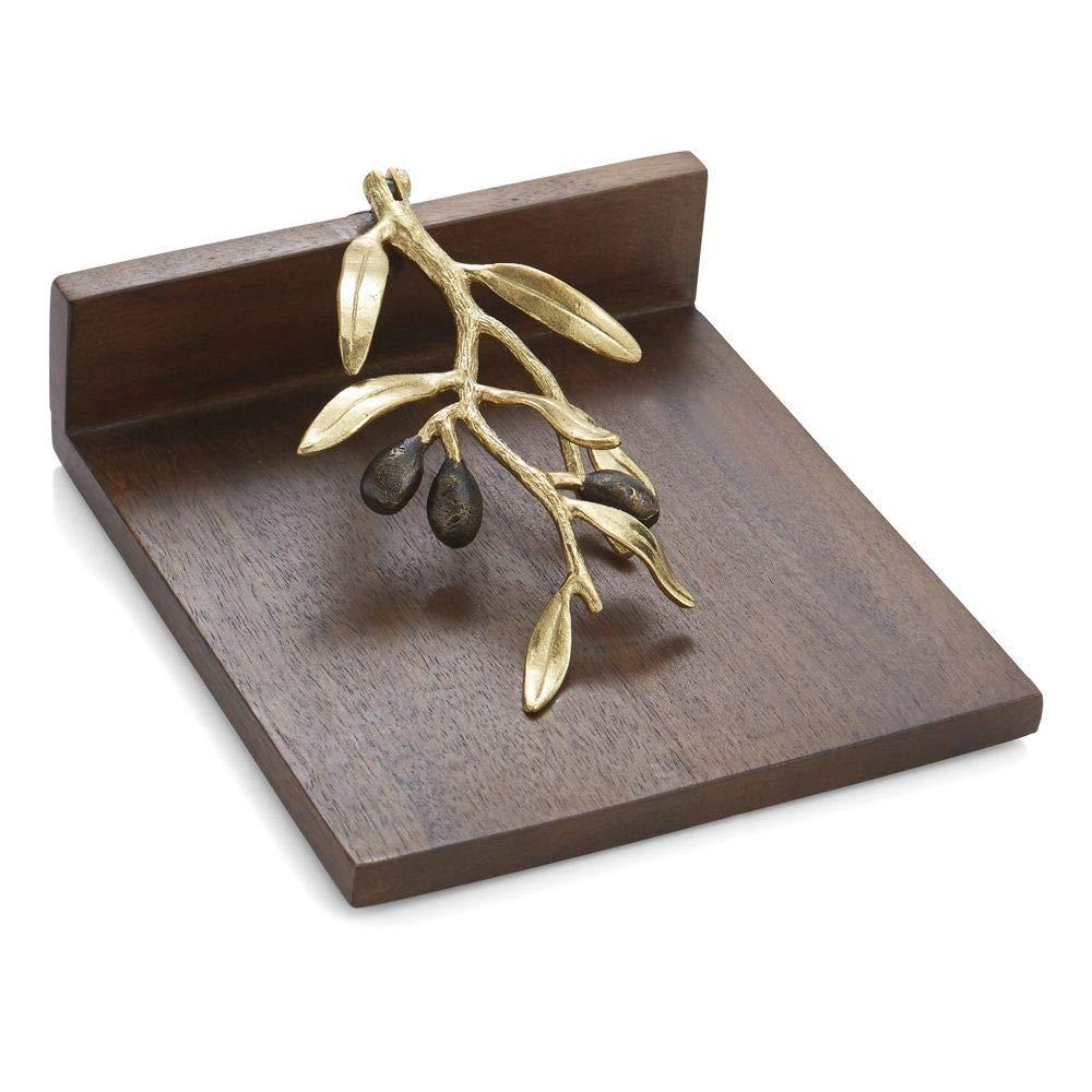 Michael Aram Olive Branch Dinner Napkin Holder by Michael Aram