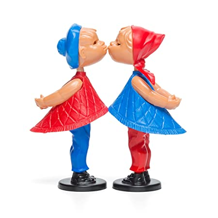 Amazon.de: Magnetische Kusspuppen - Romeo & Julia - Kissing Dolls ...