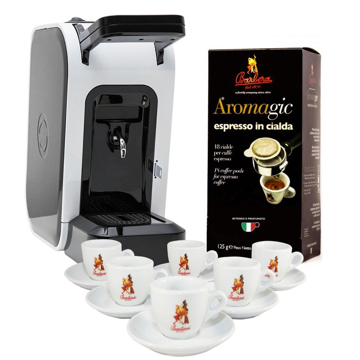 Coffee Pods Machine Spinel Ciao 18pcs Coffee Pods Coffee Cups Set Premium Barbera Coffee