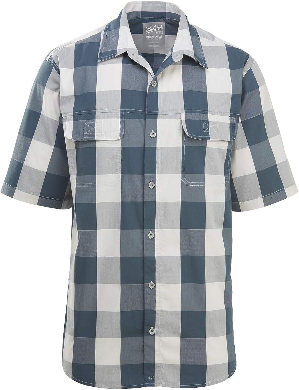Woolrich Mens Keep It Moving Short Sleeve Modern Fit Shirt