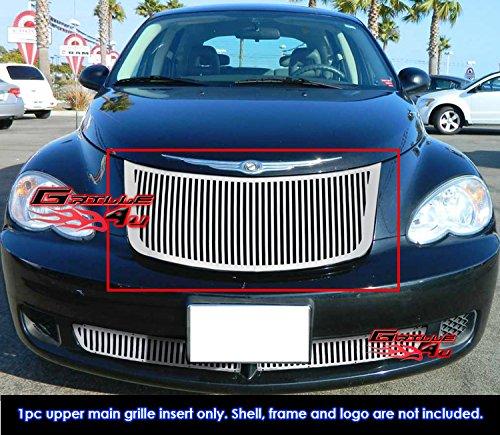 For 2006-2010 Chrysler PT Cruiser Perimeter Vertical Grille Grill Insert