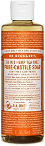 Dr. Bronner's - Pure-Castile Liquid Soap (Tea Tree, 8 Ounce)