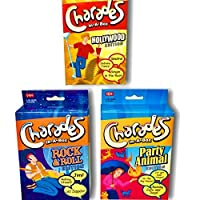 Charades Games For Kids and Adults. 3 Pack of Games Perfect for Family Game Night.