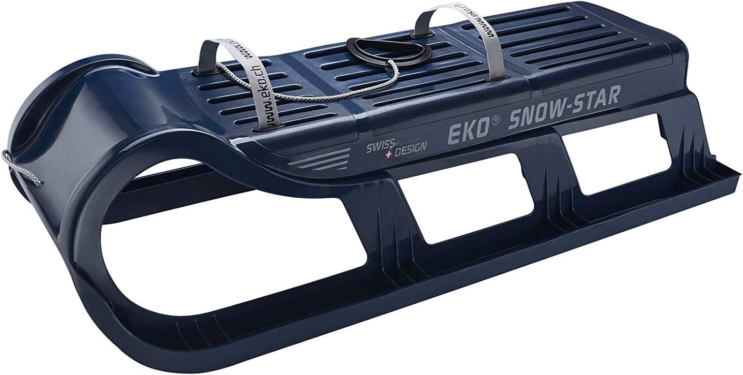 Eko Snow Star 120 x 35 x 37 cm Trineo Color Rojo