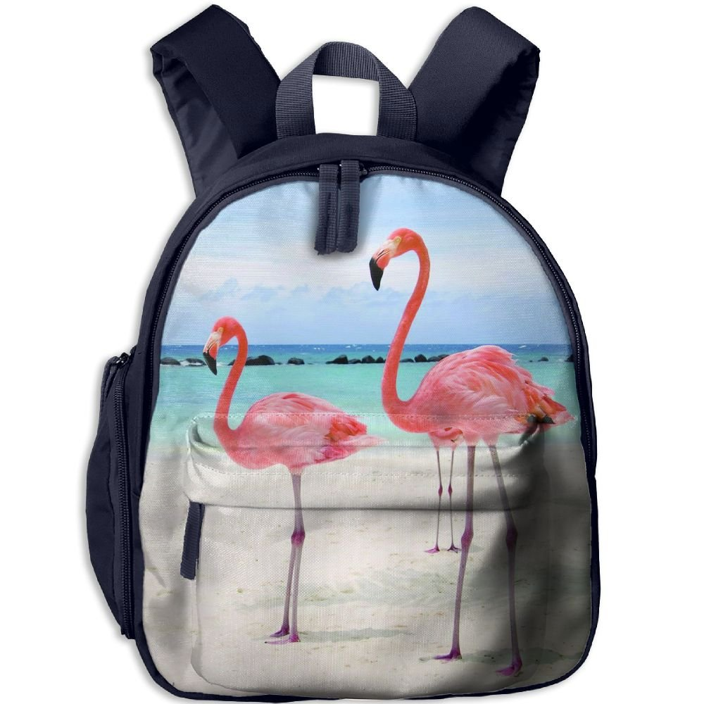 KEPan Outdoor Fancy Flamingos Funny Print Kids Snack Backpack School Book Bags Gift For Toodle Teen Boys Girls hot sale