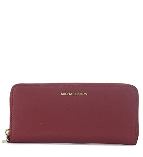d46595ec6cd1 Michael Kors Money Pieces Travel Continental Saffiano Leather (Mulberry):  Amazon.in: Shoes & Handbags