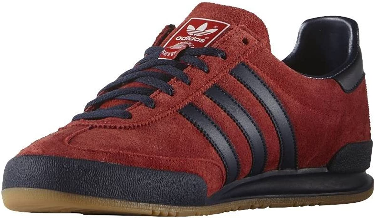 adidas jeans trainers mk2 royal red