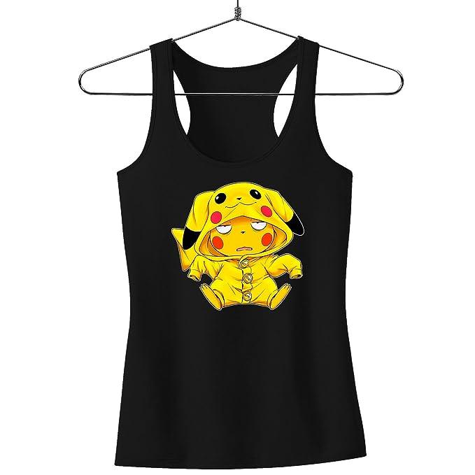 Camisetas sin Mangas Pokémon humorística con Pikachu (Parodia de Pokémon)