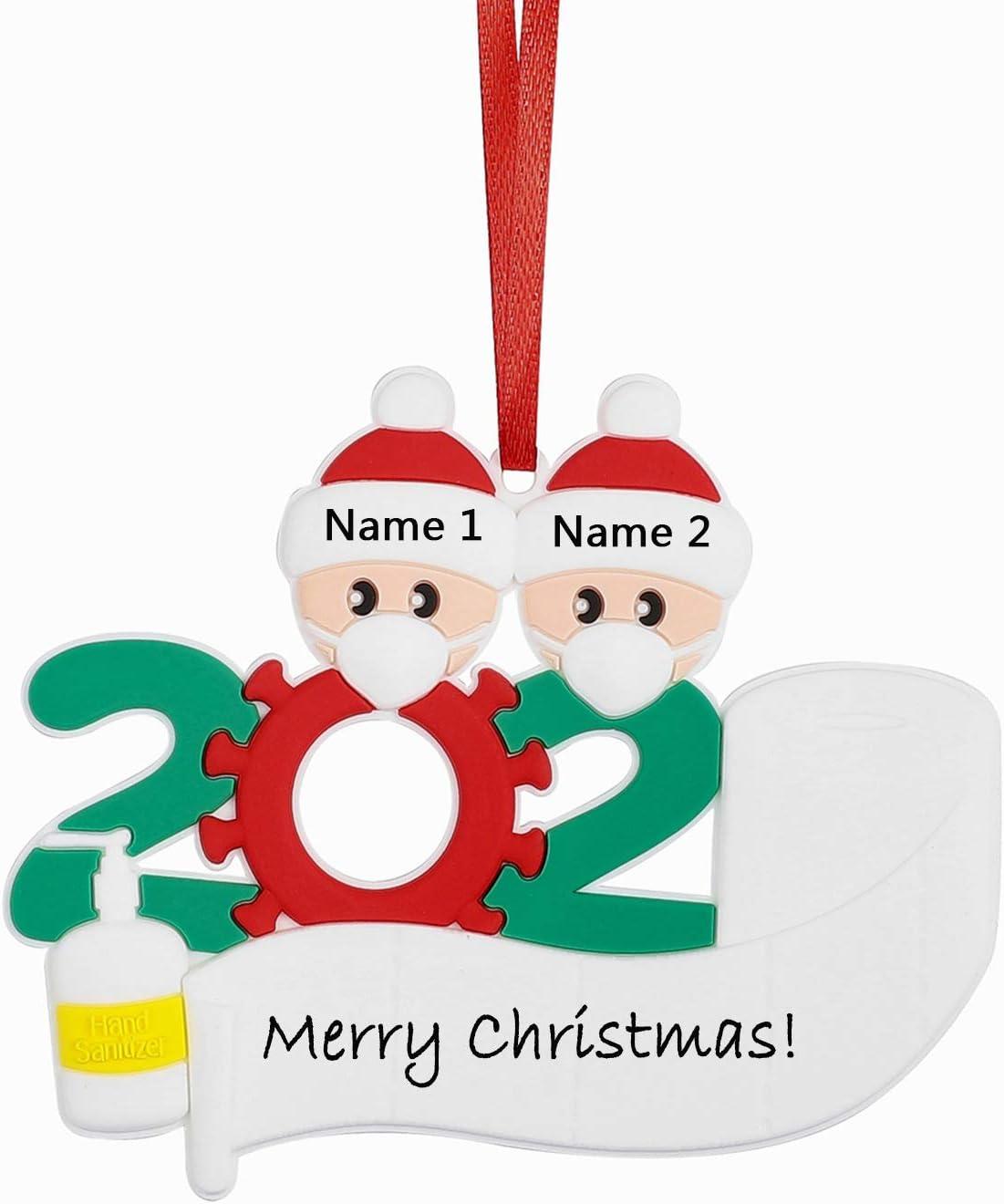 Amazon.com: Ukedio Personalized Decorative Hanging Ornaments 2020