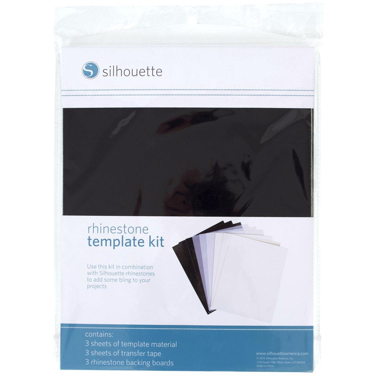 Amazon Silhouette Silh Rhine Tempset Rhinestone Template Kit