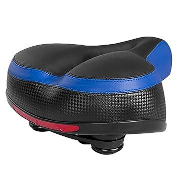 Amazon.com: KUTOOK Confort Gel sillín de bicicleta asiento ...