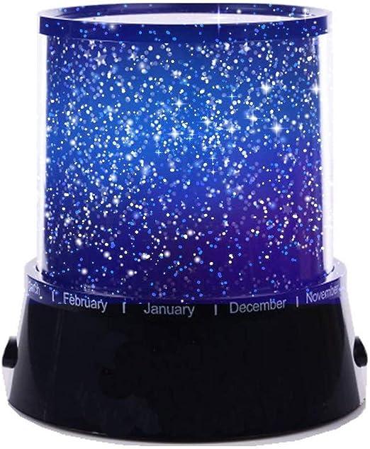 Aeeque® [Negro romántico Mini LED Estrella Proyector Lámpara [con ...