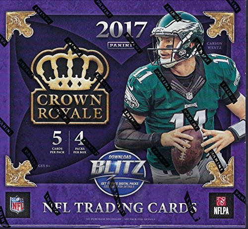 (2017 Panini Crown Royale NFL Football box (4)