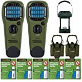 Thermacell Picnic Defender Kit: MR-9L Lantern, 2 Repeller Devices with 2 Holsters and 5 Refill Packs