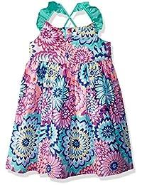 Gymboree - Vestido trenzado para niña con espalda cruzada