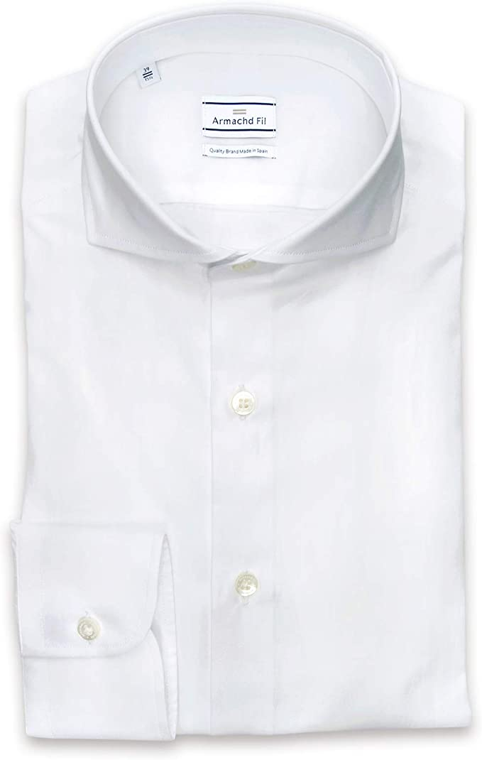 Armachd Fil Camisa de Vestir Squire White (46): Amazon.es ...