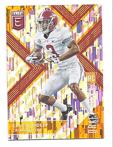cheap for discount bc81c c2f34 CALVIN RIDLEY 2018 Panini Elite Draft Picks #110 (white ...