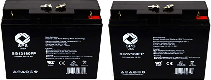 Smart Power Systems OF600 Compatible Replacement Battery Kit