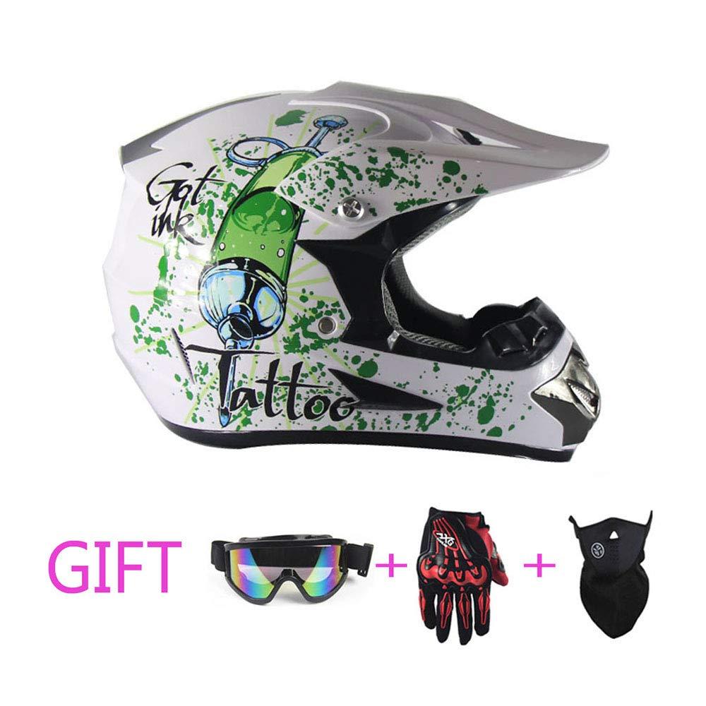 Professioneller Motocross-Helm Off Road Helmet Capacete Casco Racing Casque Downhill Rennhelm,S